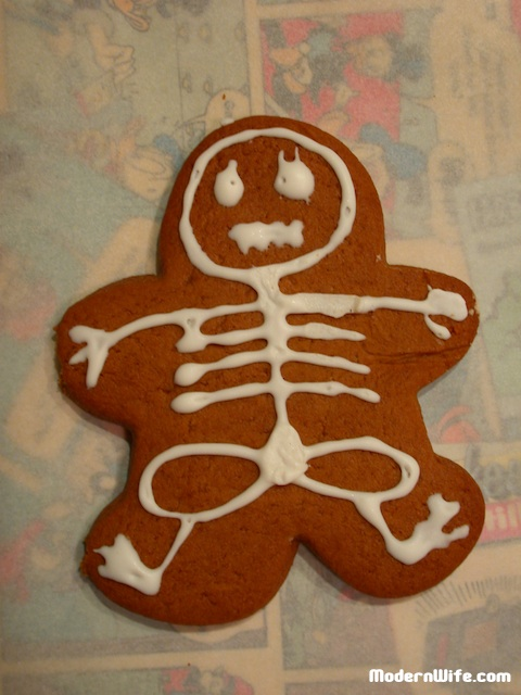 gingerbread bones