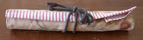knitting needles roll up case