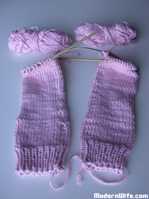 Two at a Time Knit Socks