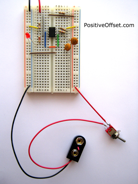 Hulda Clark Zapper Breadboard Kit