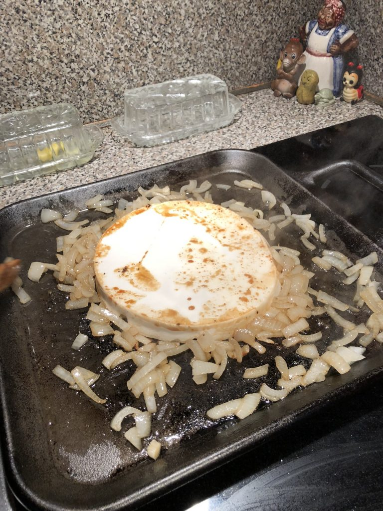 cooking the giant puffball mushroom